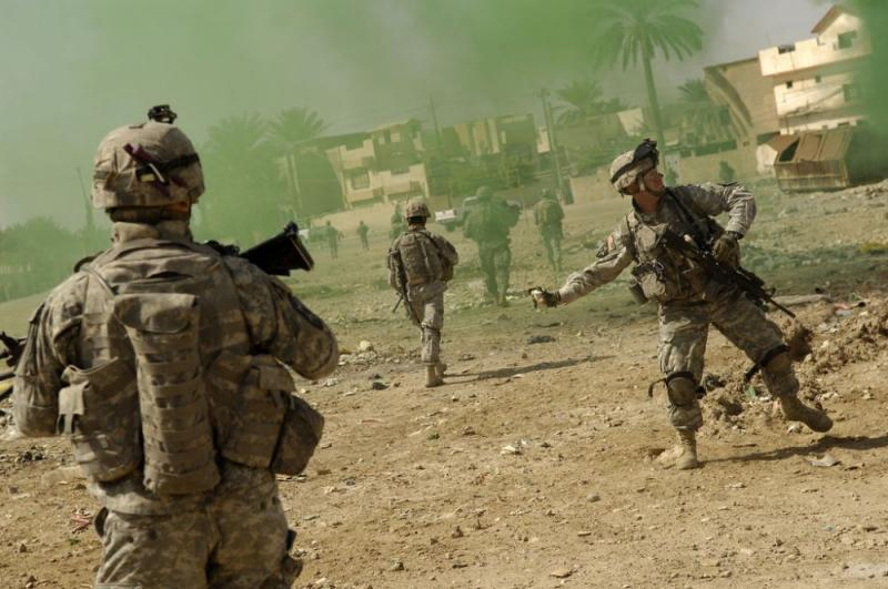 -Американских войск в Ирак. Операция «Шок и трепет»